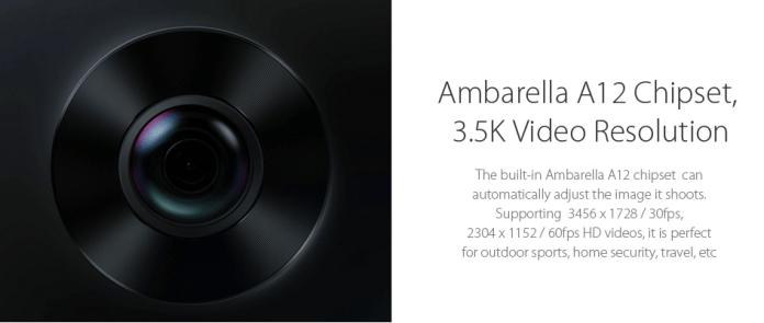 Xiaomi mijia 3.5K Panorama Action Camera Review