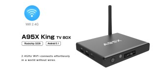A95X King Android Portable Digital TV Box