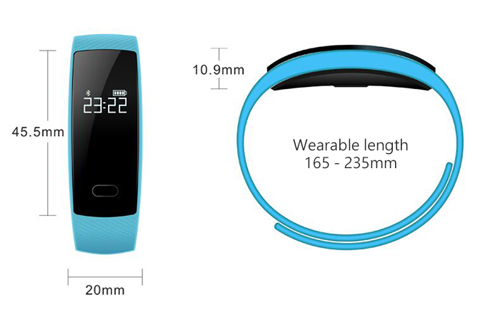 QS80 Smart Wristband Review