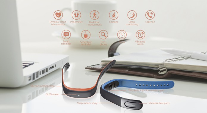Lenovo HW02 Heart Rate Smartband