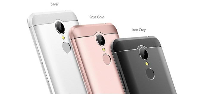 HOMTOM HT37 Pro THREEE COLOR variant