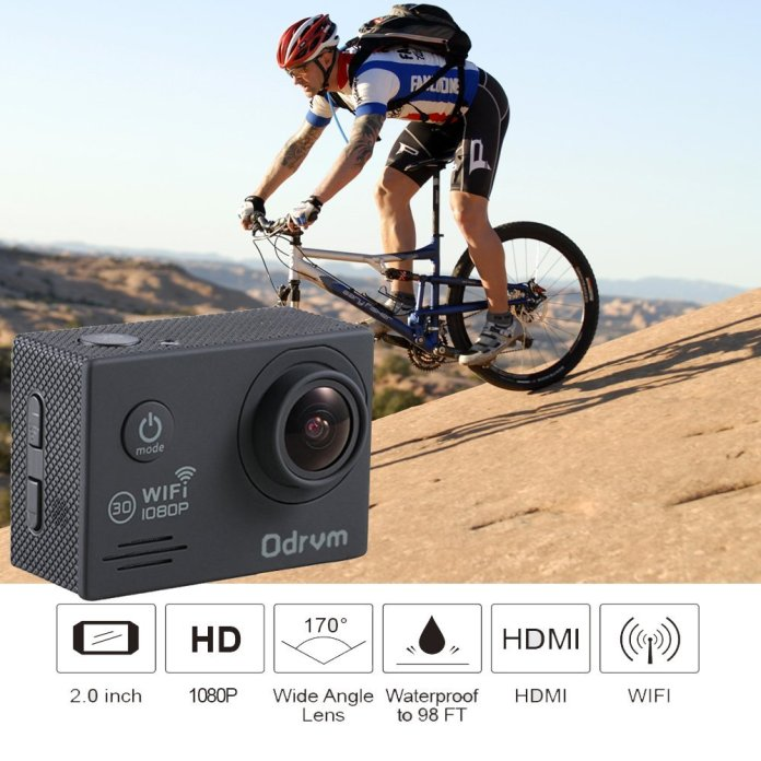 odrvm action camera review