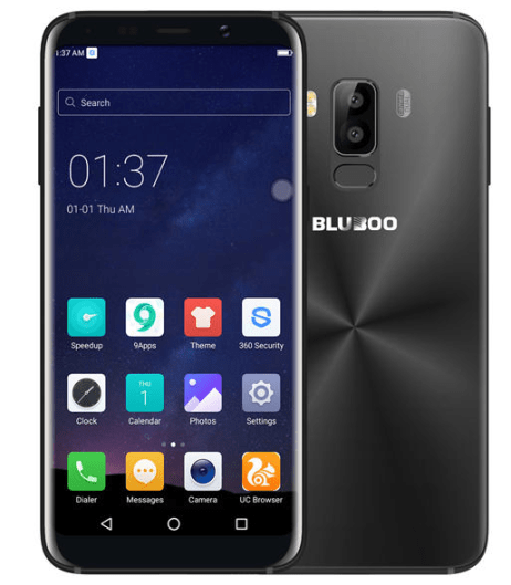 Bluboo Bezel-less smartphone