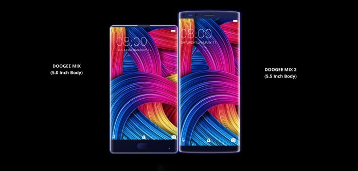 Design & Display Doogee Mix 2
