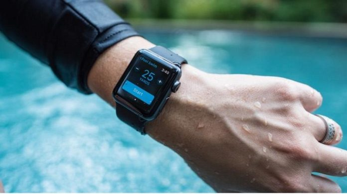 Apple Series 2 waterproof smartwatch