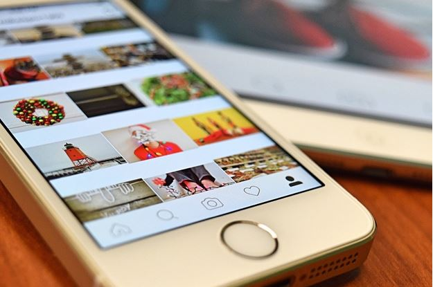 Share your moments through Instagram