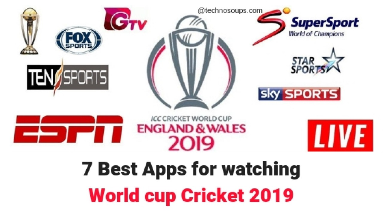 7 Best Android Apps for Watching Live ICC Cricket World Cup 2019