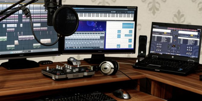 how to setup home studio