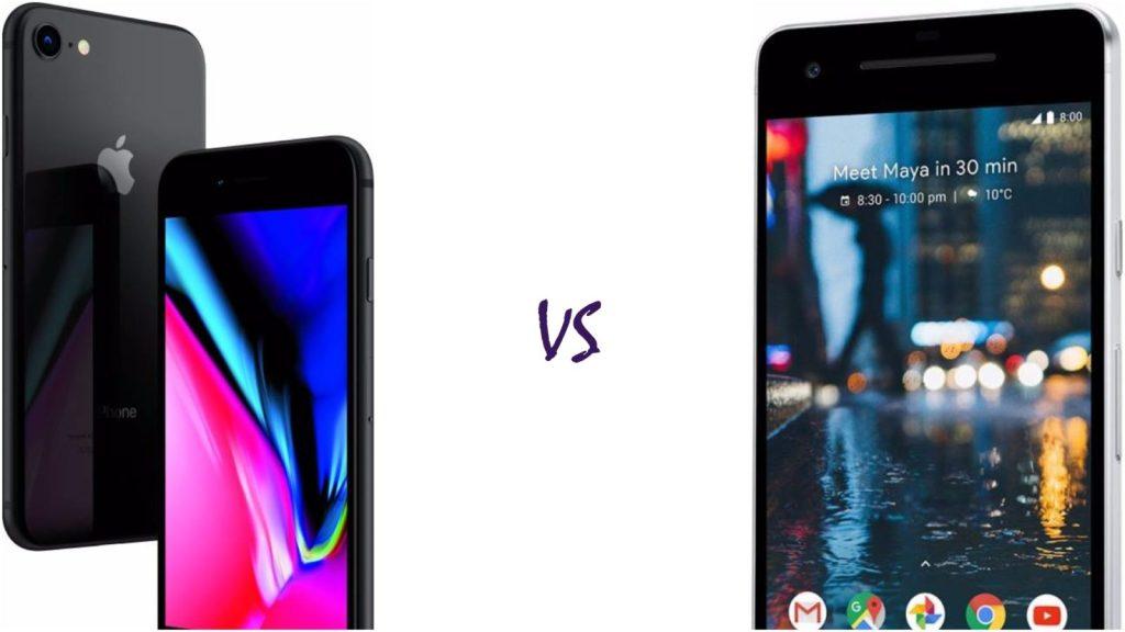 iPhone 8 vs Pixel 2
