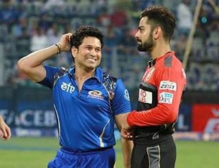 His idol Tendulkar