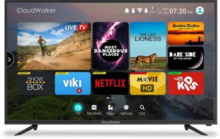 Cloudwalker 4K Smart TV