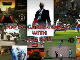 Top Games To Play On Your Old 2GB RAM PC