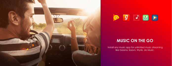 Enjoy Your Favourite Music You can install any music app available on the Google Play Store to enjoy unlimited music streaming.