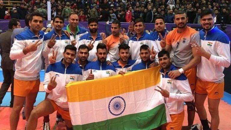 Indian Kabaddi 768x432 1 - Asian Games 2018 Kabaddi Teams