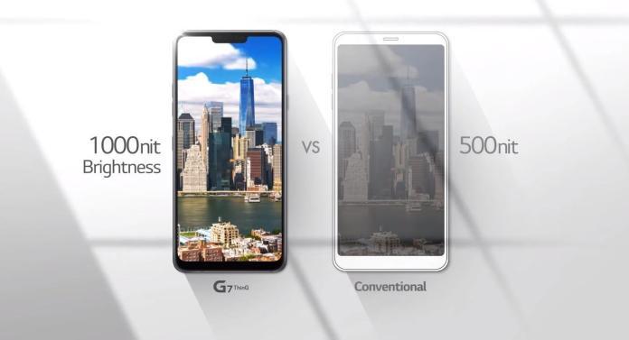LG G7+ ThinQ_Brightness_technosports.co.in