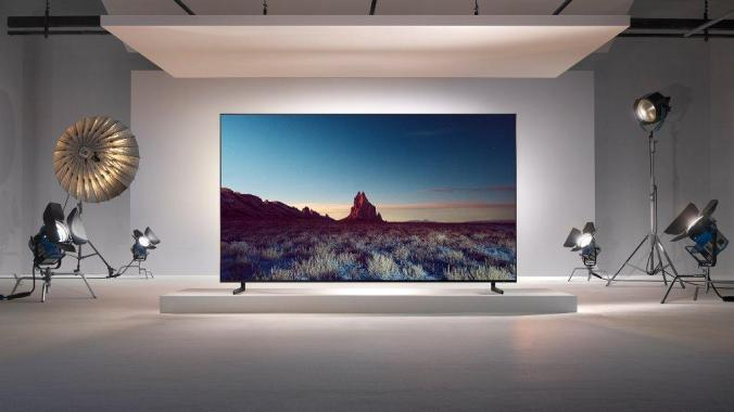 Samsung's new 8K QLED TV available from this month
