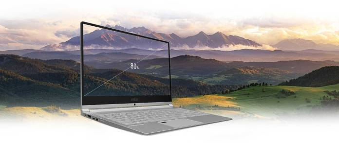 MSI PS42 - Power meets Style at a starting price of Rs.77,990