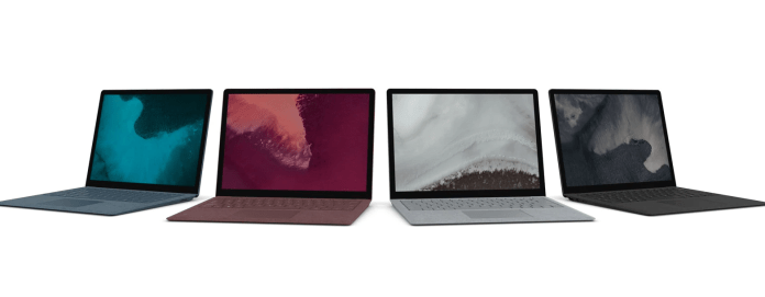 Microsoft unveils new Surface Laptop 2 with 8th gen Intel CPUs