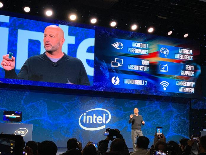 Intel shows off new 10nm Ice Lake CPUs at CES 2019