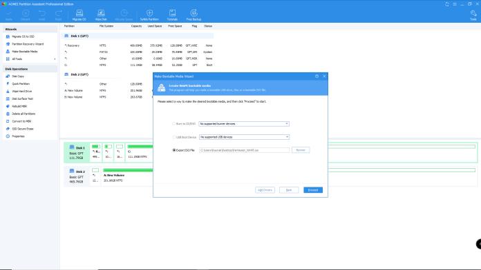 AOMEI Partition Assistant - Your complete Disk Management Assistant