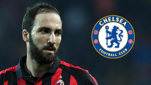 Chelsea set to sign Gonzalo Higuain in the next 48 hours