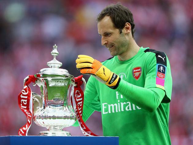 Petr Cech wins FA Cup