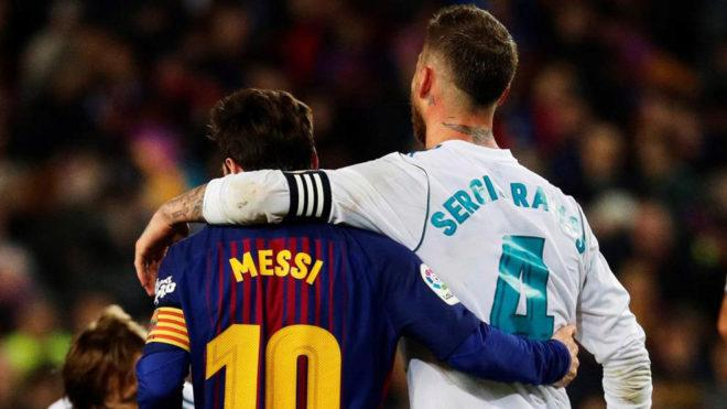 Ramos and Messi