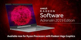 AMD Radeon™ Software Adrenalin 2019 Edition now optimized for AMD Ryzen™ with Radeon™ Vega Graphics Processor