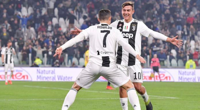 Ronaldo and Dybala
