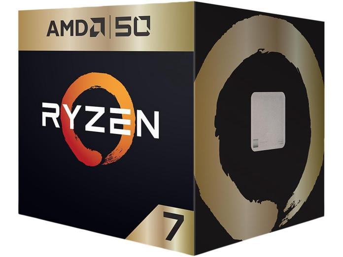 AMD launches 50th Anniversary Ryzen 7 2700X & Radeon VII Gold Editions