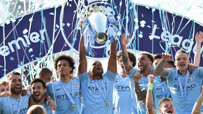 Manchester City 2018-19 Premier League winners