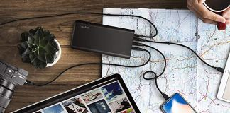 EasyAcc 20000mAh 18W Quick Charge Power Bank now at 45% off