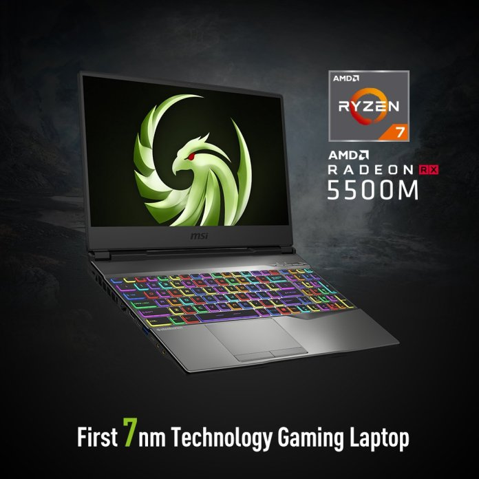 MSI Alpha 15 gaming laptop with 7nm Radeon RX 5500M GPU now in India