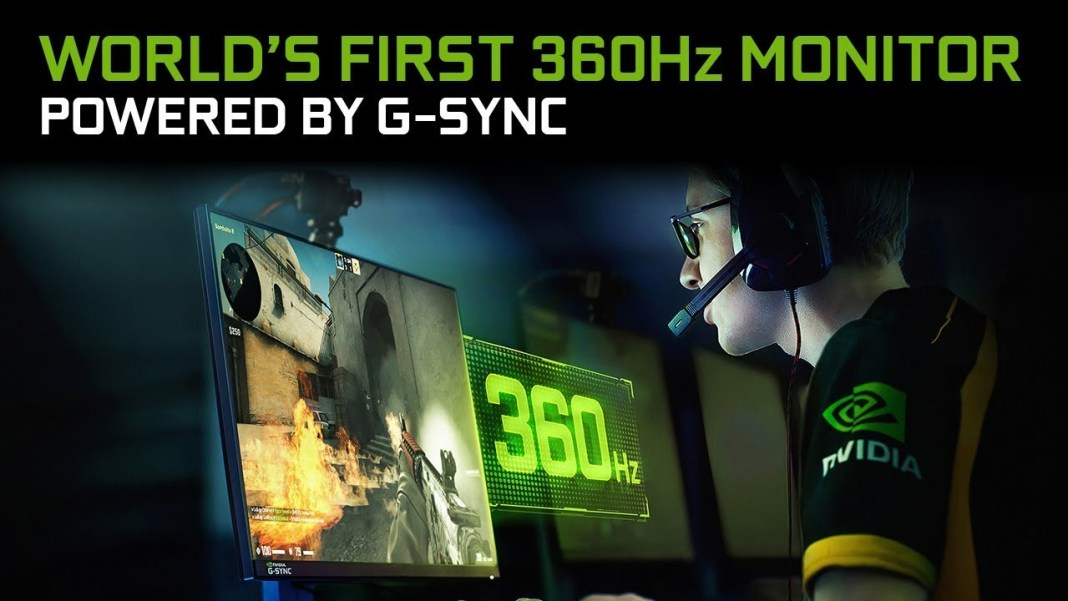 CES 2020: Asus teams with NVIDIA to bring the world's first 360 Hz G-Sync display