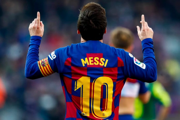 Lionel Messi is the first player to hit 1,000 goal contributions