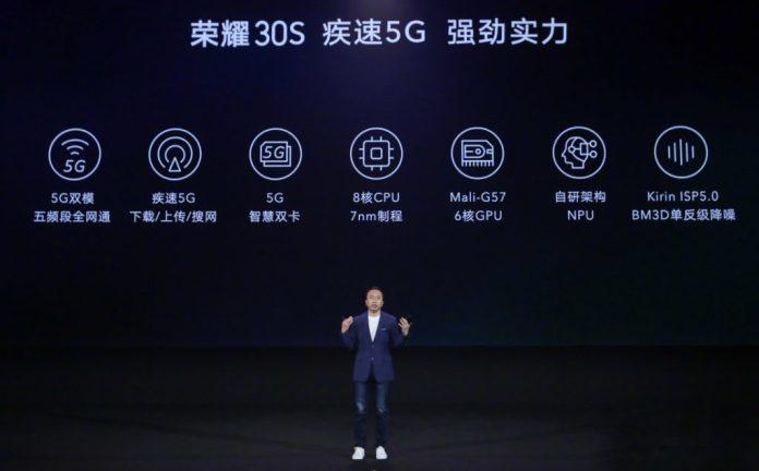 Huawei's Kirin 820 5G 7nm Octa-Core SoC with Mali-G57 GPU launched