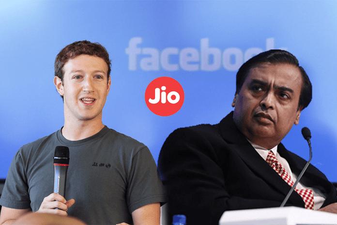 Facebook opting to Buy 10% of Reliance Jio: Report