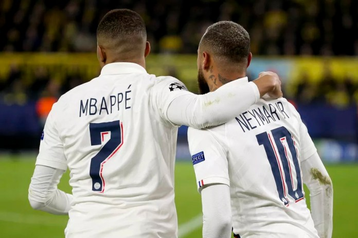 PSG opening doors for Neymar Jr, but close them for Mbappé