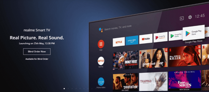 Realme TV 'Blind Order' sale with Rs 2,000 deposit amount is now Live