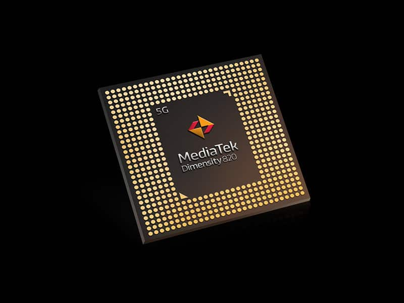MediaTek's new mid-range Dimensity 820 5G SoC launched