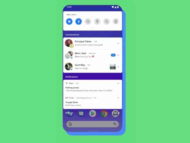 Android 11 Conversation Notification_TechnoSports.co.in