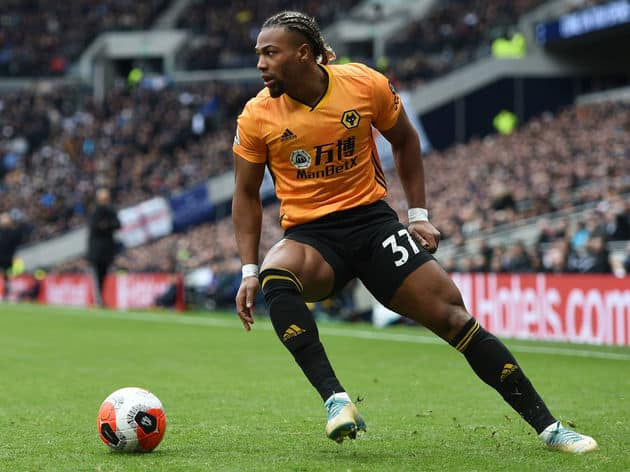 Manchester City & Juventus chase to land Wolves' attacker Adama Traore