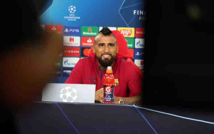 Vidal admits even though Bayern are favorites, Barça is the best team in the world