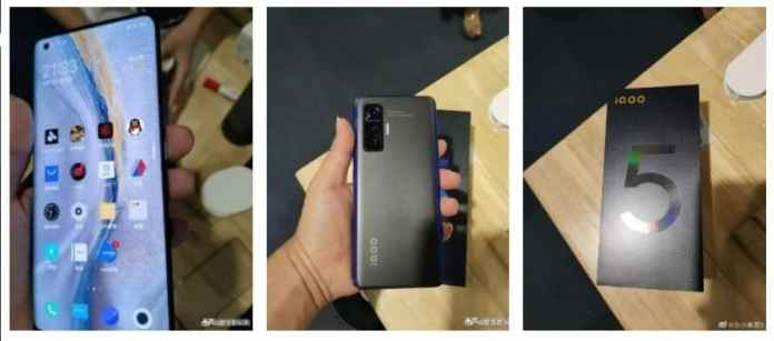 iQOO 5 appeared in live hands-on Images, shows the final design