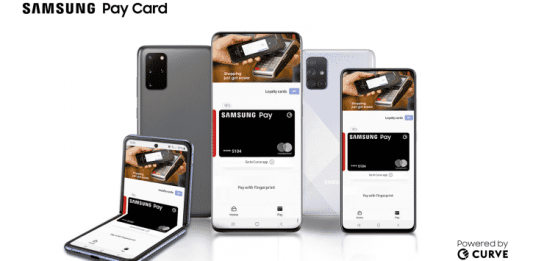 Samsung Pay Card is available in the UK, will support both credit and debit cards