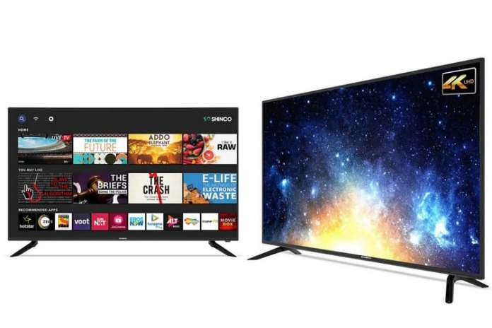 Shinco launched new Android smart TV range in India_TechnoSports.co.in