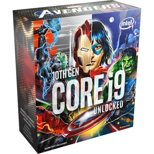 New Intel Marvel's Avengers Collector's Edition for 10th-gen desktop processors now available