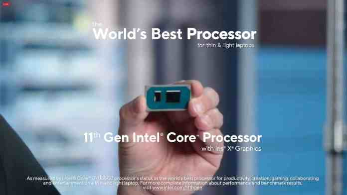 Intel Tiger Lake lineup for laptops announced: Turbo up to 4.8 GHz confirmed