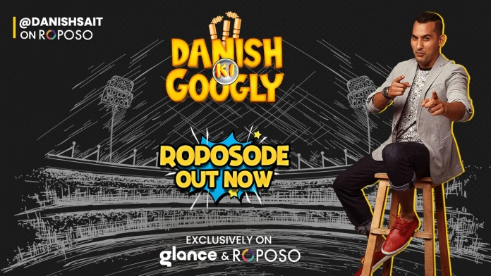 Glance Launched Its First Exclusive Cricketainment Series with Danish Sait on Roposo
