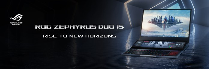 Asus ROG Zephyrus Duo 15 with secondary display and up to Core i9-10980HK & RTX 2080 Super  launched in India